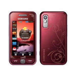 Samsung S5230 Rojo